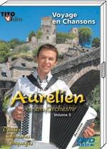 """DVD Aurélien """"Voyage en chansons"""" 19.00€"""