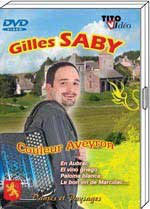 "DVD Gilles SABY ""Couleur Aveyron"""