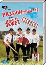 """DVD Sébastien DEWEZ """"Passion musette""""  19.90€"""