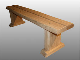 Sitzbank Kati - ohne Lehne aus Eiche