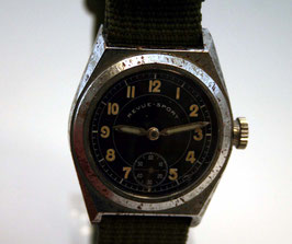 Original REVUE SPORT Military Herrenuhr - ca. 1940 - black