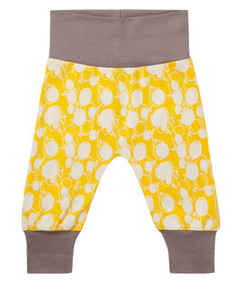 SJORS BABY PANT YELLOW-DARK GREY