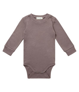 MILAN BABY BODY LANGARM IN DARK GREY