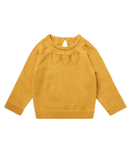 HONOVI BABY SWEATER MUSTARD