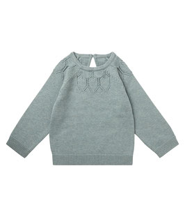 HONOVI BABY SWEATER LIGHT OLIVE