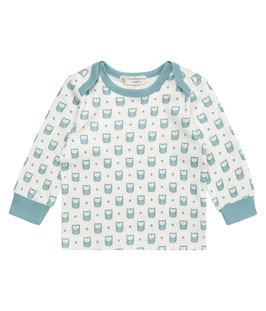 TIMBER BABY SHIRT LANGARM EULEN BLAU