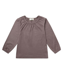 SELLY LONGSLEEVE SHIRT IN DARK GREY
