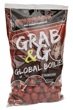 "Starbaits G&G Global Boilie ""Strawberry Jam 20mm"""