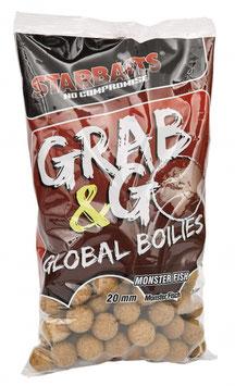 Starbaits G&G Global Boilie Mega Fish 20mm