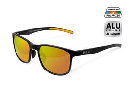 Delphin Polarisationsbrille SG black orange