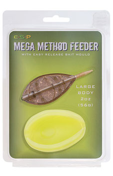 E.S.P Mega Method Feeder + Mould large