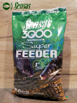 Sensas 3000 Super Feeder Etang black
