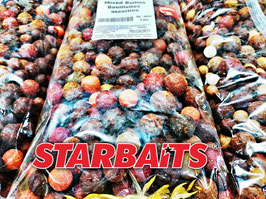 Starbaits Futterboilie Mix 2,5kg