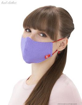 ヒールクローズスペシャルマスク パープル  Lサイズ (女性用サイズ)¥4,158(税込み)→キャンペーン価格¥2,079(税込み)