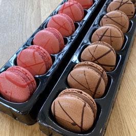 マカロン ラズベリー / チョコレート 各種 9個入 アソート