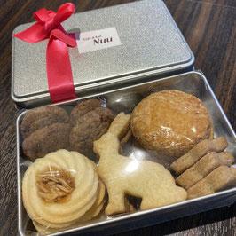 クッキー缶 S / M サイズ 各種