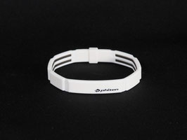 METAX Armband Modulus white