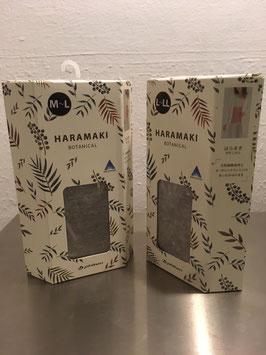 Nierenwärmer HARAMAKI botanical grey