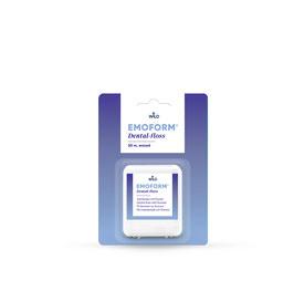 Emoform ® Dentalfloss gewachst, 50 m Emoform fil dentaire en soie, 50 m