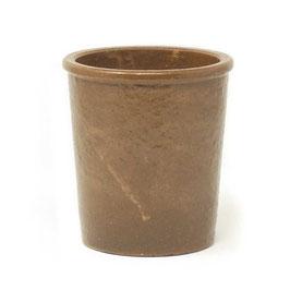 Steinzeugtopf 1L, Farbe: Braun