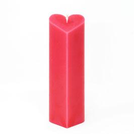 "Kerze ""Herztubus"" (430g), Farbe: Rot"