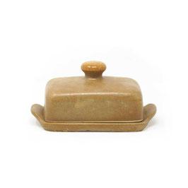Butterdose, Farbe: Hellbraun matt