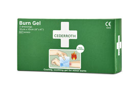 901900 - Cederroth Burn Gel Dressing 10 x 10cm, 2 Stk.