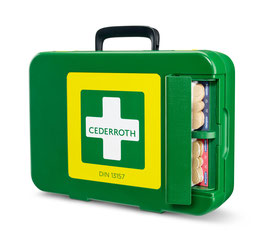 390104 - Cederroht First Aid Kit , DIN 13157