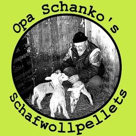 Opa Schanko's Schafwollpellets