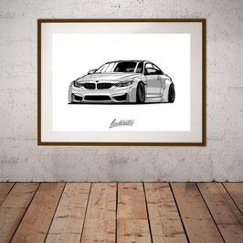 M4 Silverstar Artwork A2