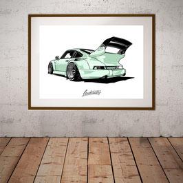 911er Mint Artwork A2