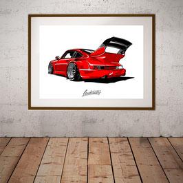 911er Red Artwork A2