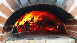 Holzofen-Pizza wie beim Italiener