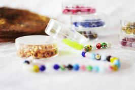 Schmuck mit Glasperlen