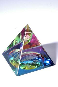 Glaspyramide Sternzeichen