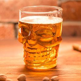 Skull Bier Glas