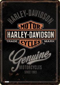 Harley-Davidson Genuine 750 flathead