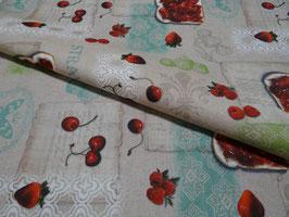 Tischdecke Baumwolle Leinenoptik Gourmet