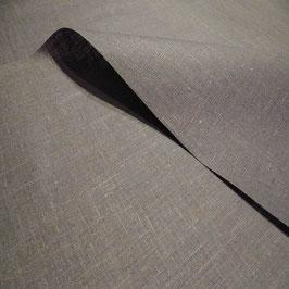 Tischdecke Leinen beschichtet grau