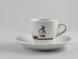 6x Espresso Tassen