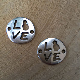 Verbinder Love Silber