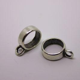 Ring mit Öse (Silber)