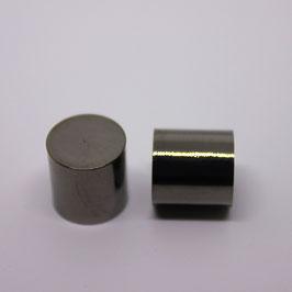 Endkappen (Gun Metal) 12mm