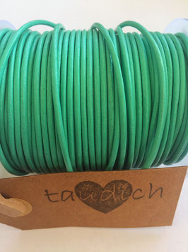 Rundleder 2mm Mint