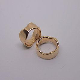 Ring gewellt  (Rosegold)