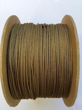 Micro Cord Brown Gold