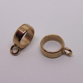Ring mit Öse (Rosegold)
