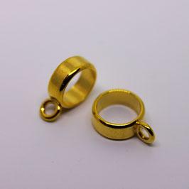 Ring  mit Öse (Gold)