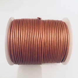 Rundleder 1,5mm Metallic Bronze
