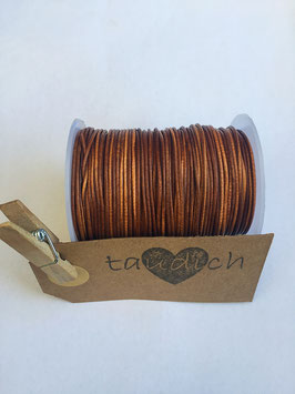 Rundleder 1mm Vintage Tan